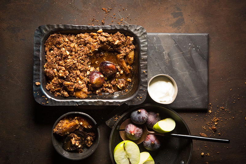 APPLE COCONUT CRUMBLE