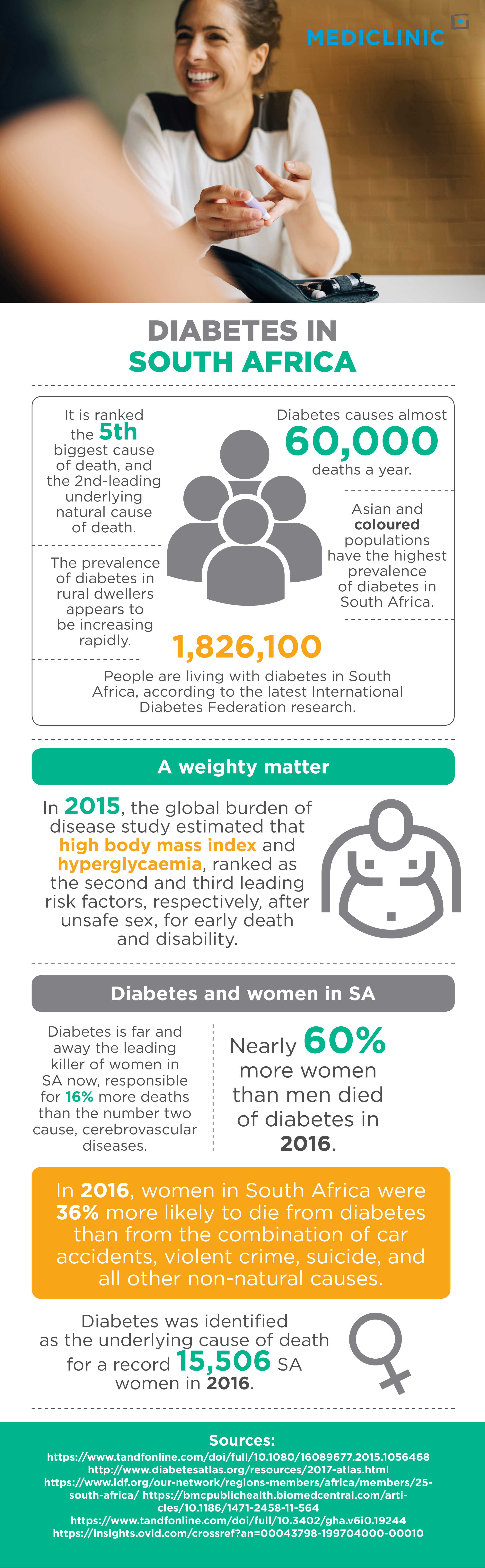 diabetes, south africa